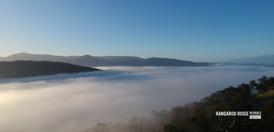 Kangaroo Ridge Retreat Morning Mist
