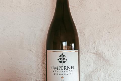 Bottle of Pimpernel Vineyards Chenin Blanc 2018