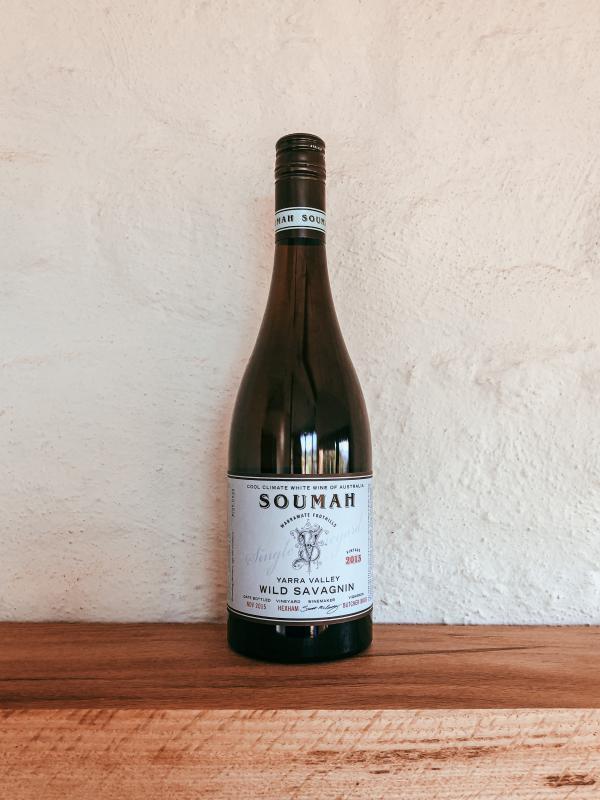 Bottle of Soumah Wild Savagnin 2015