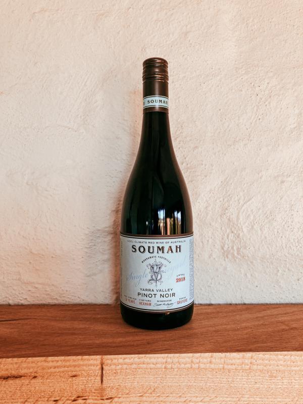 Bottle of Single Vineyard Pinot Noir Hexam 2019 vintage