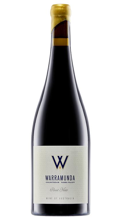 A bottle of Warramunda Estate Pinot Noir