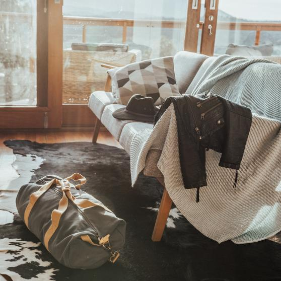 We provide all you need to escape, just bring your overnight bag