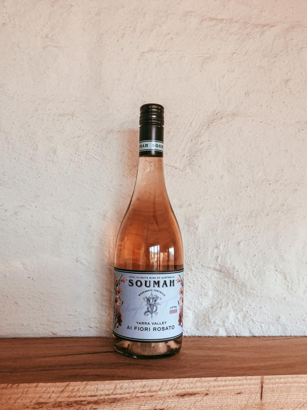 Bottle of Soumah Ai Fiori Rosato
