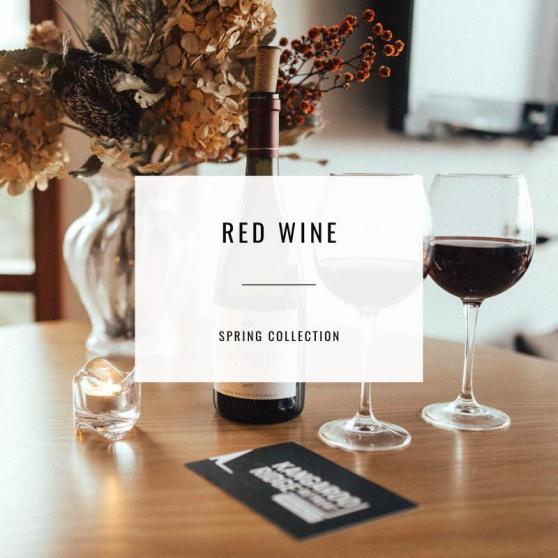 Kangaroo Ridge Red Wine Collection for Spring 2020