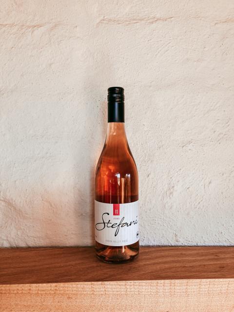 Bottle of Stefani Rosé