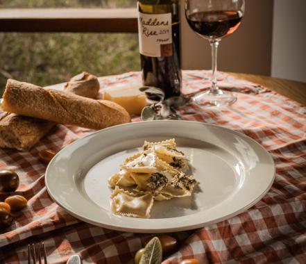 Yarra Valley pasta dinner